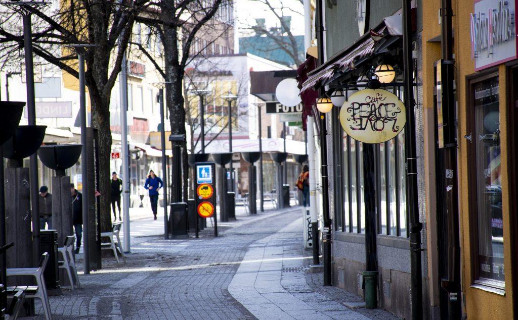 Borlänge bild småstad